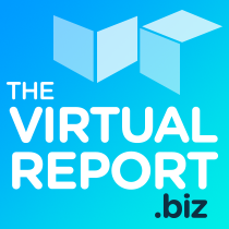 The Virtual Report.biz Logo